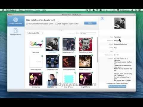 Wie Fix und ID3 Tags bearbeiten, iTunes Musik auf dem Mac im Batch