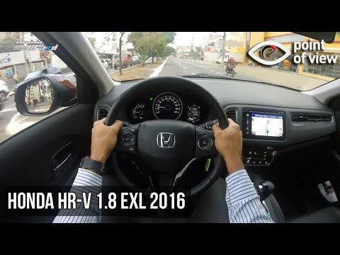 honda hr v exl 2016 pov youtube. Black Bedroom Furniture Sets. Home Design Ideas