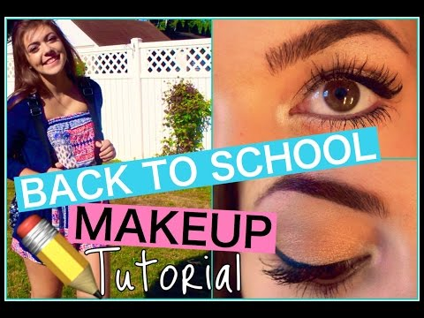 Back To School Makeup Tutorial!, #lmbacktoschool