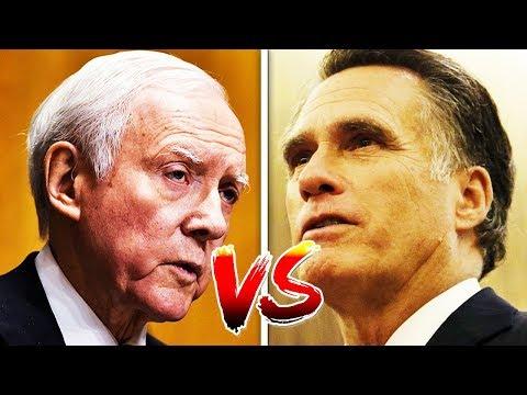 CATFIGHT: Orrin Hatch vs Mitt Romney