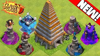 Clash of Clans - NEW 2015 UPDATE! Town Hall 11, Golem Tower, Witch Tower & New Towers! Update Ideas!