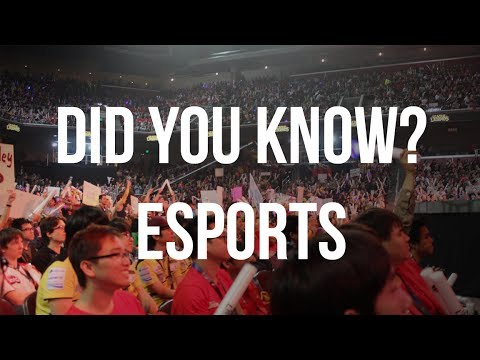 Did You Know? Esports (History + Facts)