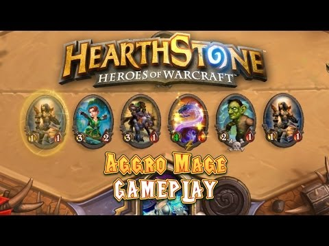 Hearthstone Gameplay: Aggro Mage