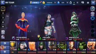Marvel Future Fight ( Boss Fight )