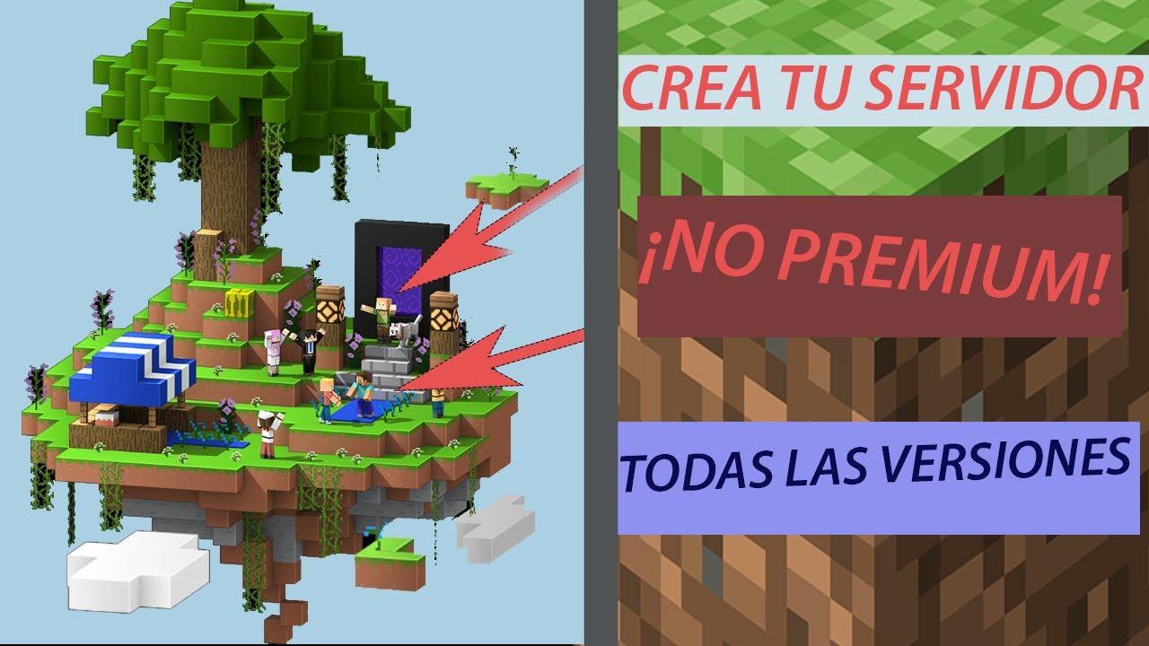 Como crear un server en Minecraft 1.14.4 - YouTube