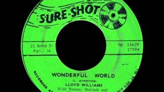 Lloyd Williams With Tommy Mccook : Wonderful World