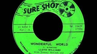 Lloyd Williams With Tommy Mccook : Wonderful World