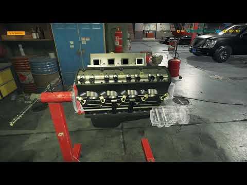 Car Mechanic Simulator 2018 Building A V8 OHV for my %& BelAir aka delray custom