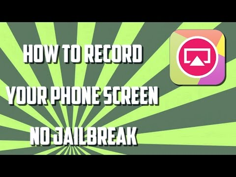 HOWTO RECORD YOUR SCREEN FOR FREE WITHOUT JAILBREAK - TUTORIAL WEEKENDS PART 2