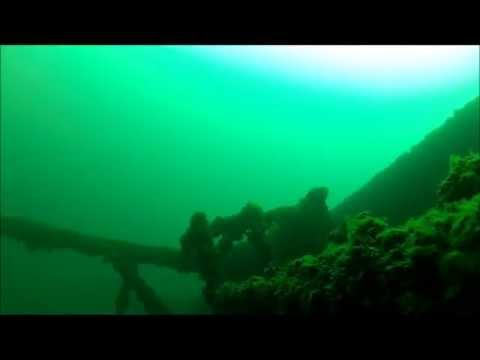 The Cedarville Shipwreck in the Straits of Mackinac