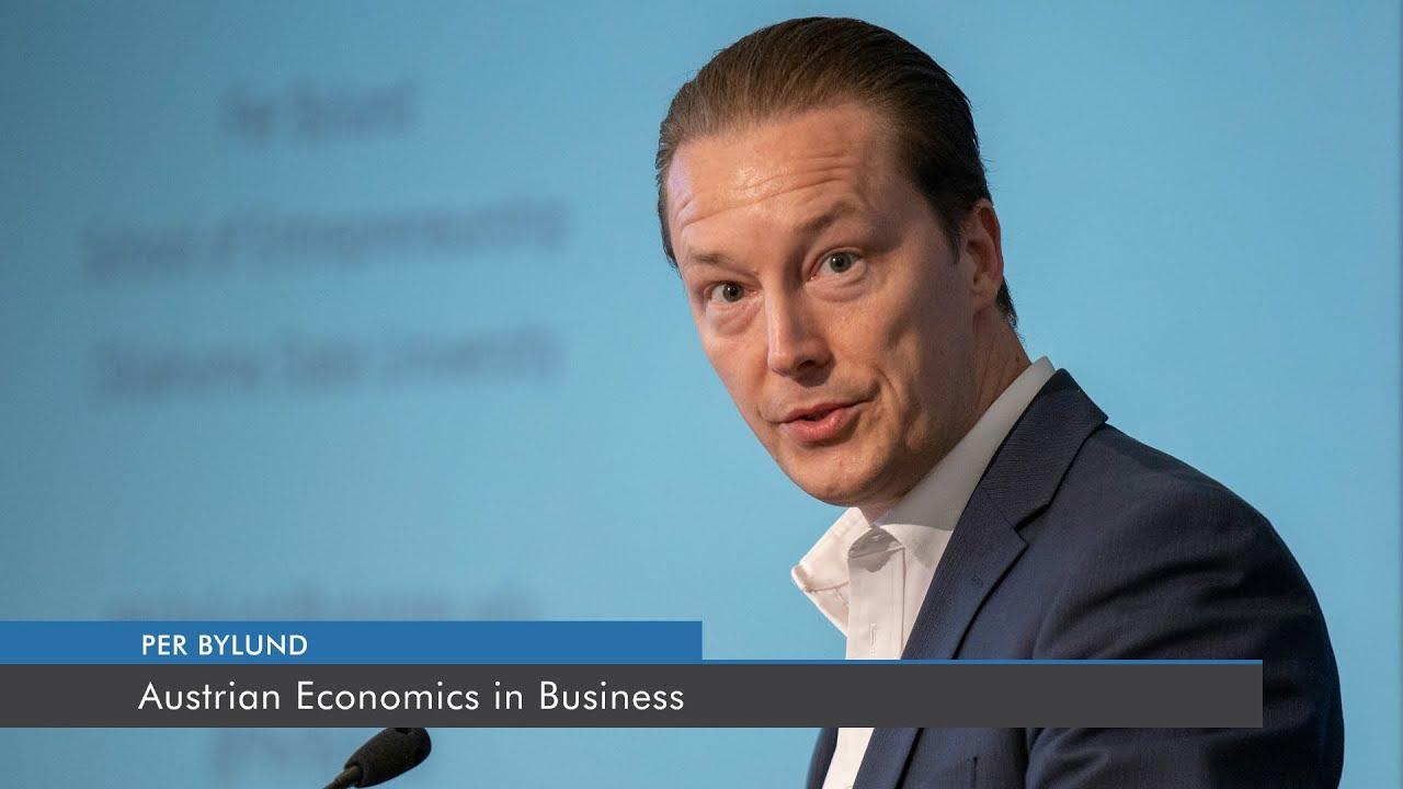 Austrian Economics in Business | Per Byund - YouTube