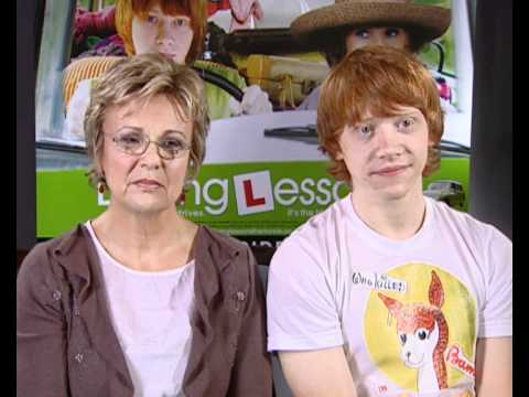Julie Walters and Rupert Grint on Julie's foul mouth