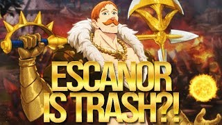Is Escanor... TRASH?! Seven Deadly SIns Grand Cross
