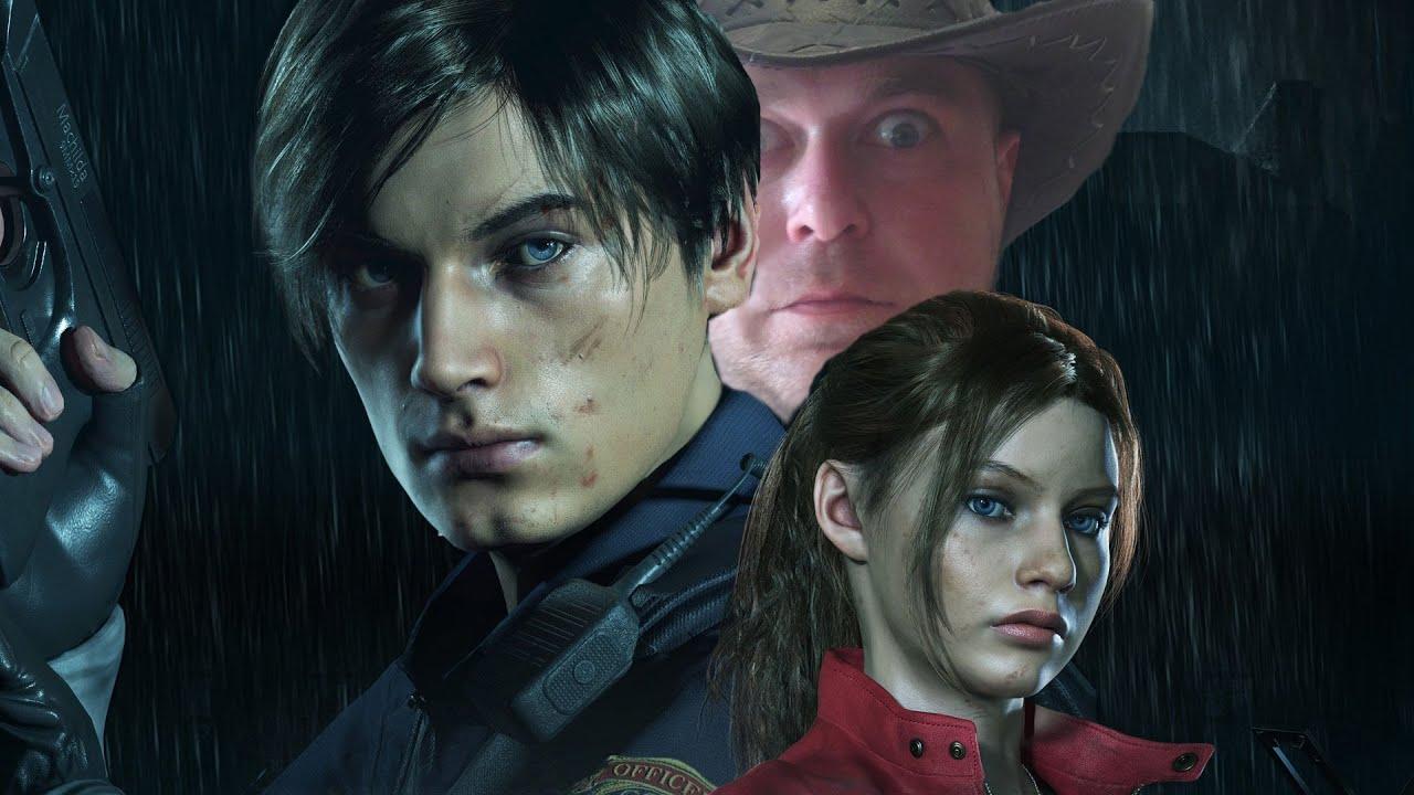 Прохождение Resident Evil 2 Remake: Лизун: Зализывает до