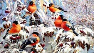 Торжество зимы в картинах художников-живописцев | Живопись пейзажная | HD