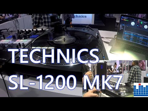 NAMM 2019: First look at the Technics SL-1200 MK7! Mp3