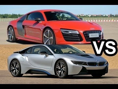 2016 Bmw I8 Vs Audi R8 Design Test Drive Youtube