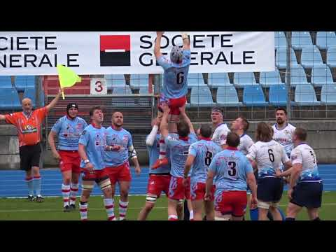 Rugby : Luxembourg Finlande 45 - 5 / Avril 2018