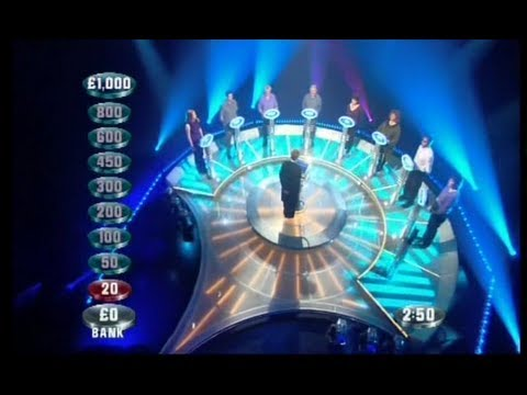 Weakest Link - 19th March 2001