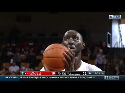 Tacko Fall vs SMU. Full Coverage. 23pts, 20reb. 2019.02.24