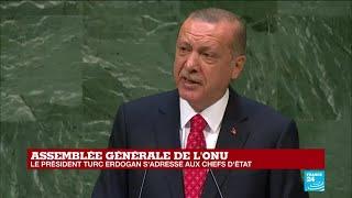 REPLAY - Discours de Recep Tayyip Erdoğan à l''Assemblée générale de l''ONU