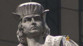 Controversy Swells Around Christopher Columbus Statue