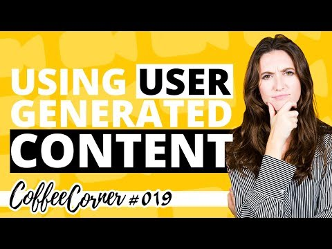 Using User Generated Content! | Coffee Corner 019 | Video Marketing Insights