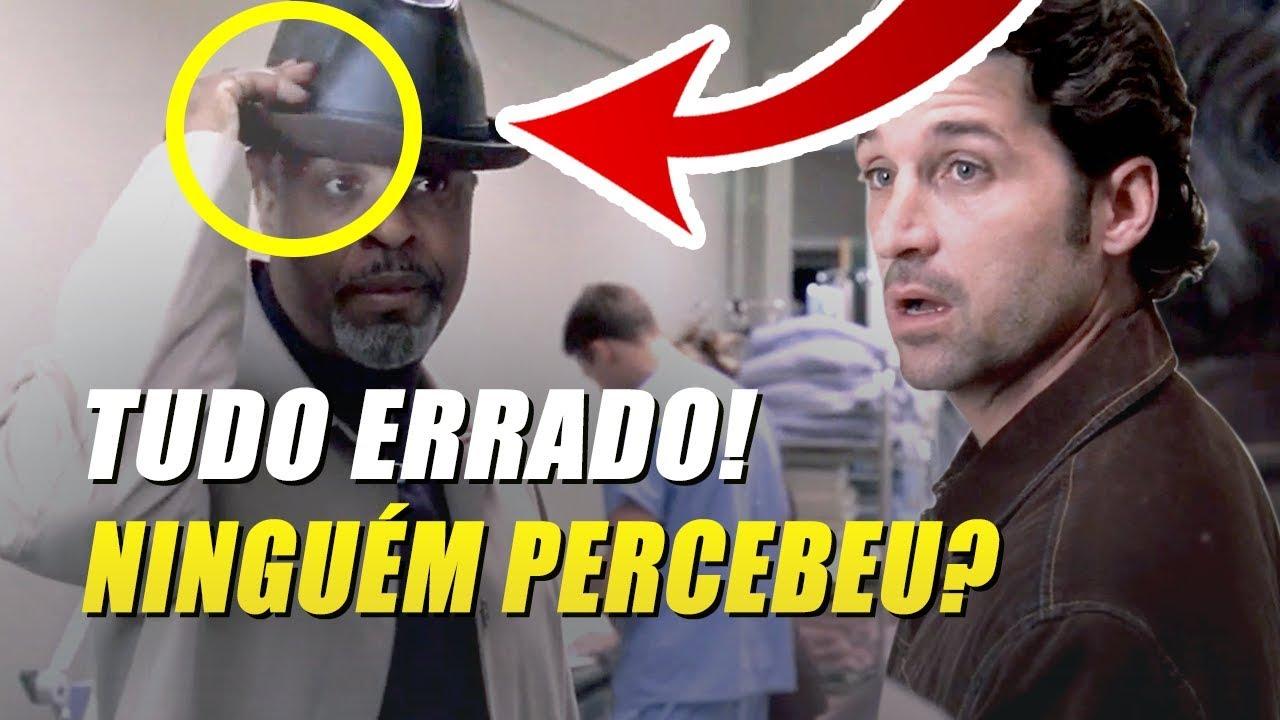 5 Erros Bizarros Em Grey S Anatomy Que Você Não Percebeu Youtube