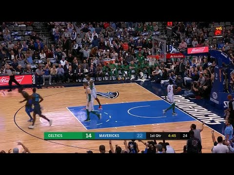 1st Quarter, One Box Video: Dallas Mavericks vs. Boston Celtics