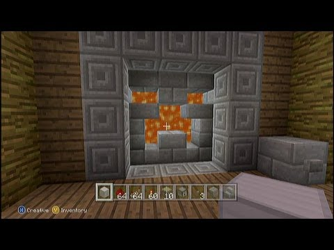 Lava Or Water Creeper Door 3x3 Tutorial Minecraft Xbox 360