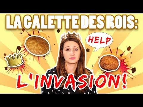 LA GALETTE DES ROIS: L'INVASION! - ANGIE LA CRAZY SÉRIE