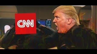 Donald Trump Rescues Putin from CNN HQ! #CNNMemeWar