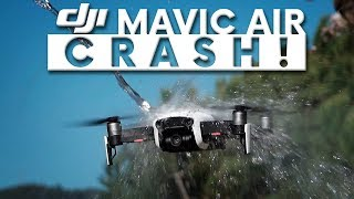 DJI MAVIC AIR CRASH!!!