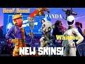 Fortnite -Exklúzív Galaxy Skin,Burger,Panda! Dúl a Love! 5.2.0!