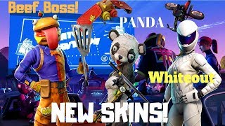 Fortnite-Exclusive Galaxy Skin, Burger, Panda! Rile to Love! 5.2.0!
