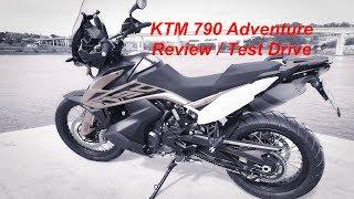 KTM 790 Adventure Review / Test Drive / Видео