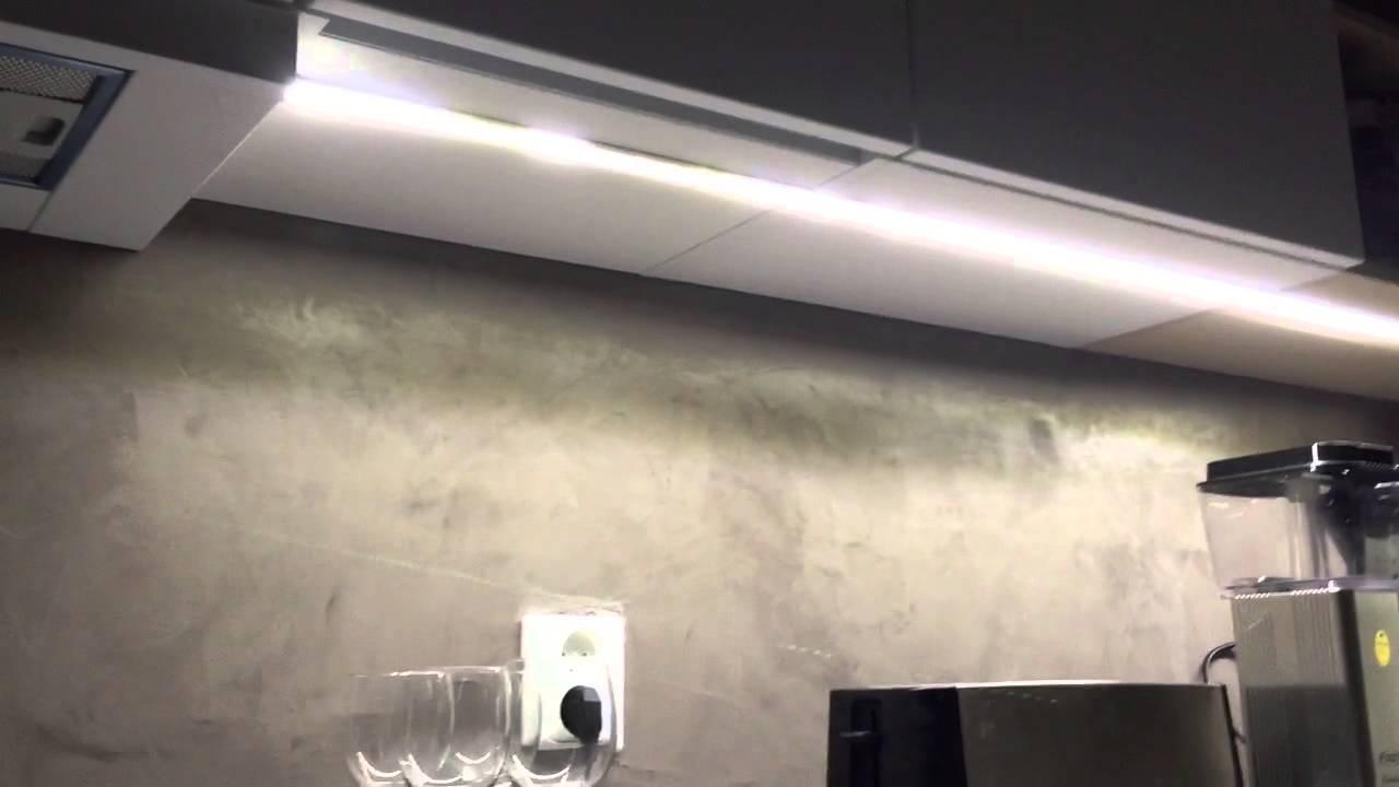 LED nauha keittiön välitilan valaistusksena  YouTube