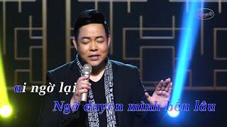 Karaoke Buồn Làm Chi Em Ơi Tone Nam Beat Chuẩn Quang Lê