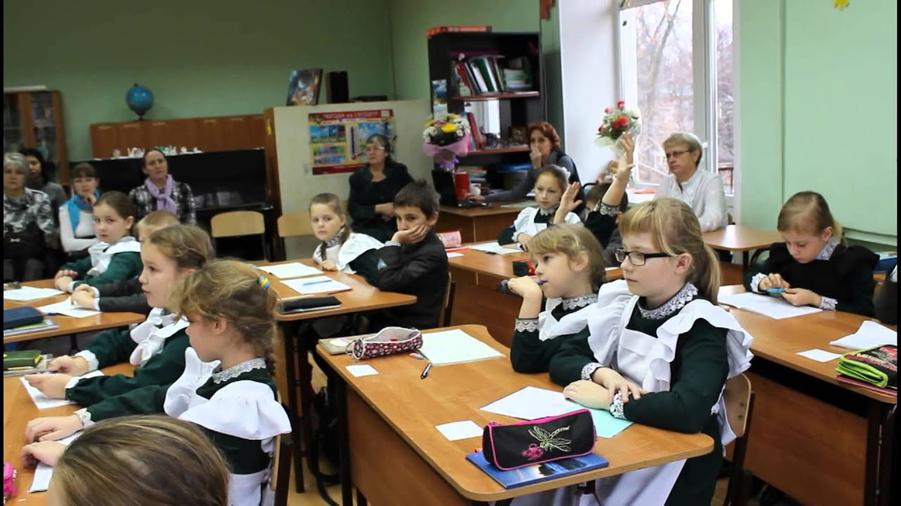 Открытые уроки в 3 классе по школе