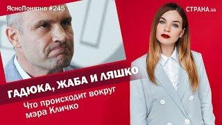 Гадюка, жаба и Ляшко. Что происходит вокруг мэра Кличко   ЯсноПонятно #245 by Олеся Медведева