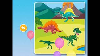 Dinosaur Games: Puzzle for Kids & Toddlers !