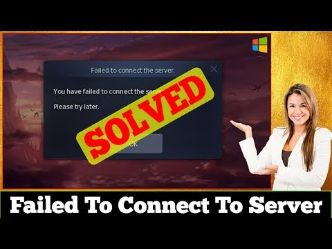 [SOLVED] Failed To Connect To Server Error Problem Issue
