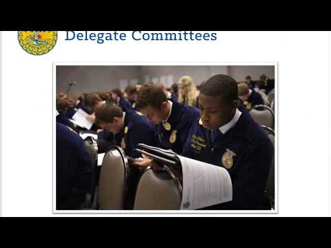 Delegate 101 (90th National FFA Convention & Expo)