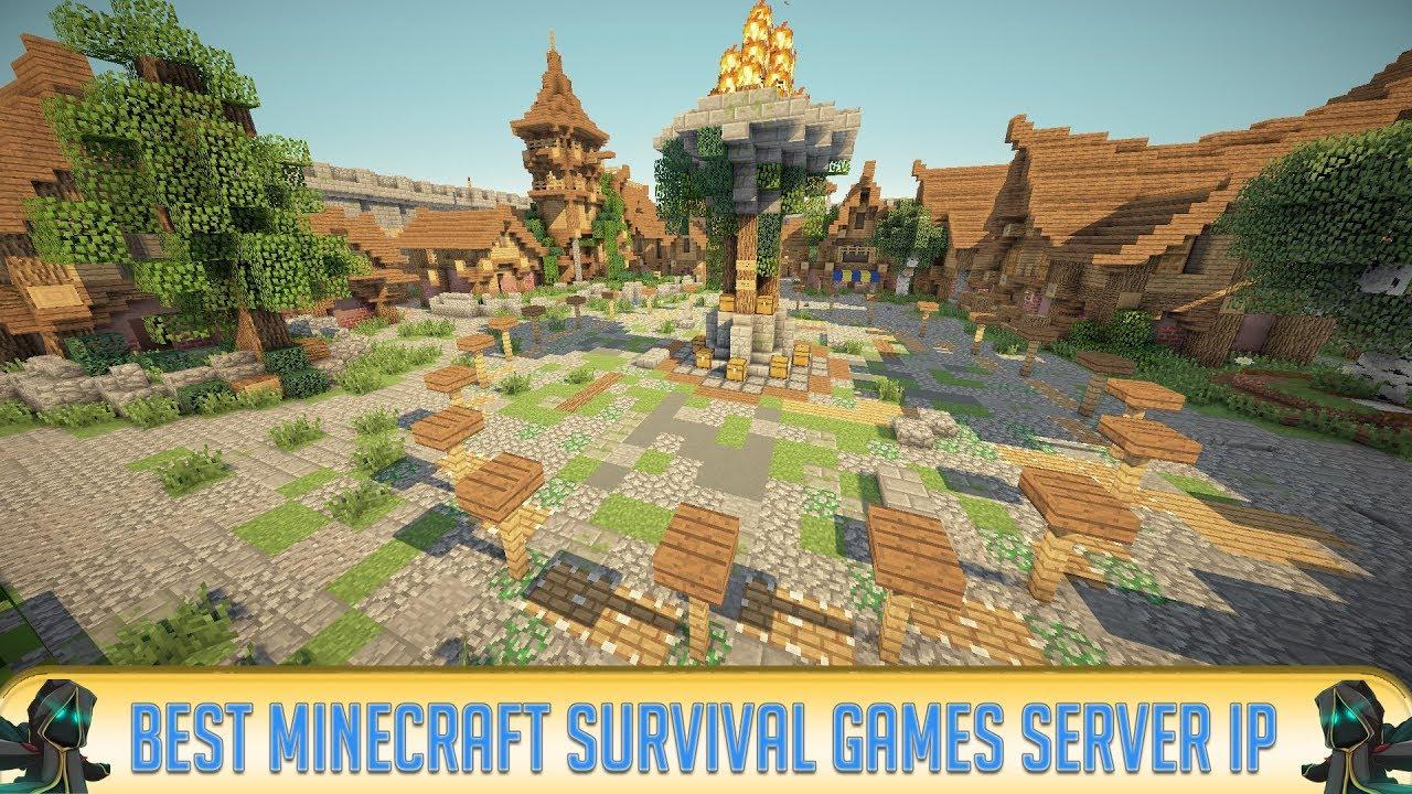 Minecraft Best Multiplayer Survival Games Server YouTube - Minecraft survival spiele