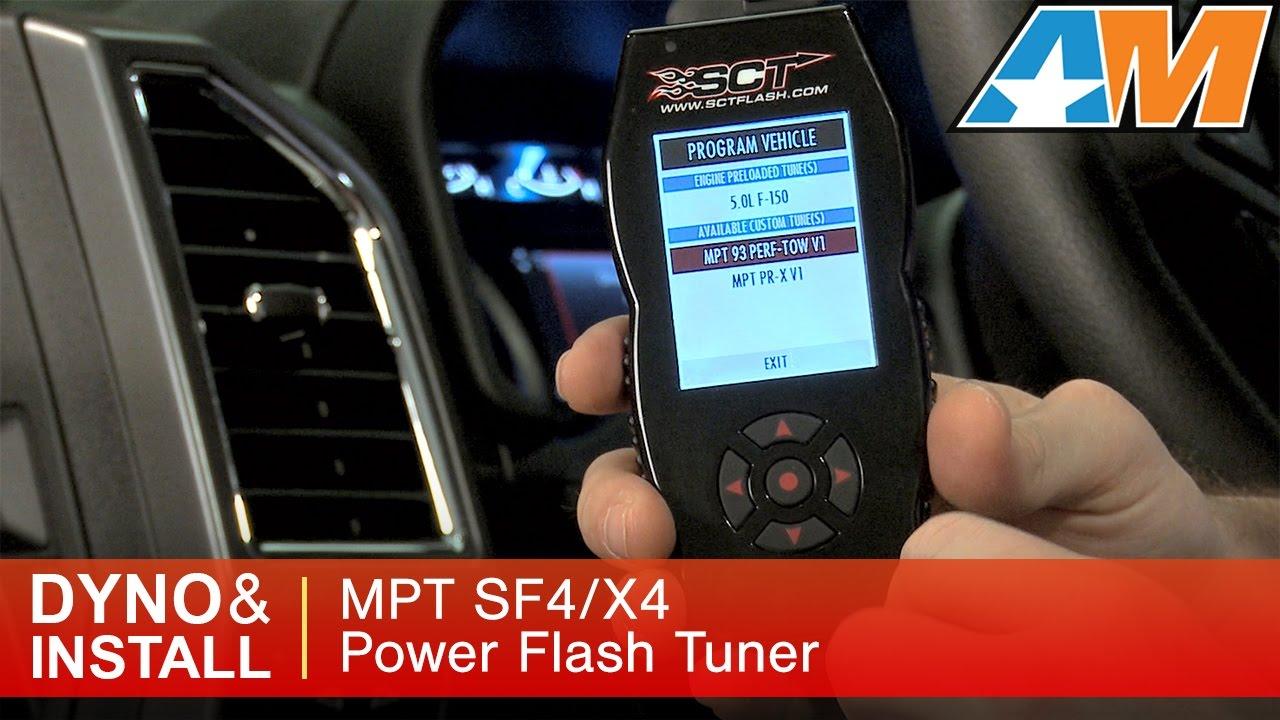2015-2016 F-150 MPT SF4/X4 Power Flash Tuner w/ 3 Custom Tunes (5 0L) Dyno  Results & Install