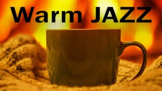 Relaxing Warm JAZZ - Fireplace & Soft JAZZ  Music For Stress Relief - Chill Out Music