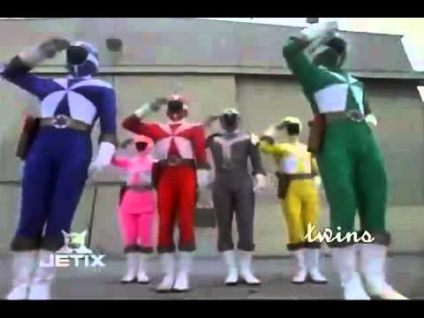 Download All Power Rangers Team Up Morphs HQ