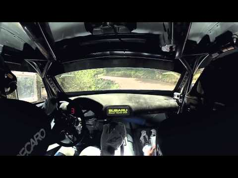 Onboard with David Higgins at the 2014 Oregon Trail Rally