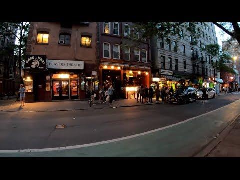 ⁴ᴷ⁶⁰ Walking NYC : SoHo & Greenwich Village At Night (Prince, Macdougal, West 4th Streets)