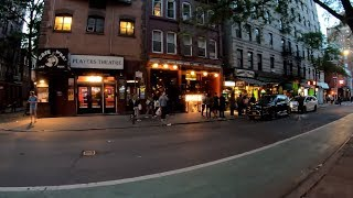 ⁴ᴷ⁶⁰ Walking NYC : SoHo & Greenwich Village at Night (Prince, Macdougal, West 4th Streets)